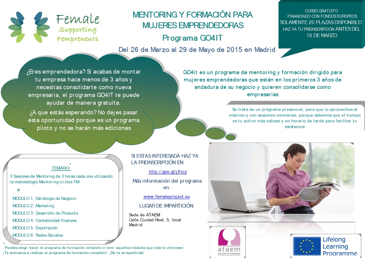 Cartel curso FEMALE