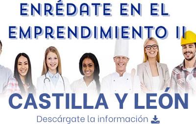 Información Enrédate en el emprendimiento - Castilla y león