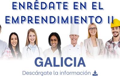 Información Enrédate en el Emprendimiento - Galicia